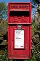 Elizabeth II Postbox, Hob Cote Lane - geograph.org.uk - 1297980.jpg