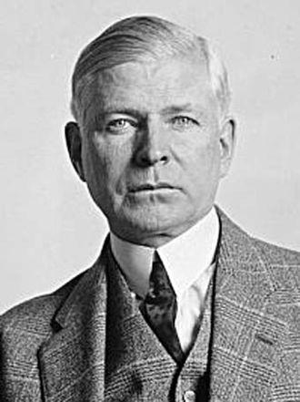 1st Oklahoma Legislature - State Senator Elmer Thomas would go on to serve as a United States Senator.