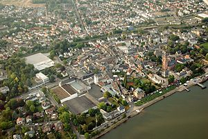 Eltville - Aerial view