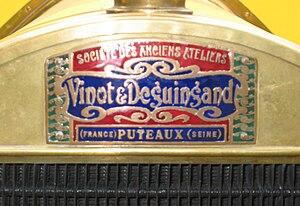 Vinot-Deguingand - Image: Emblem Vinot & Deguingand