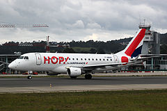 Embraer 170 należący do HOP!