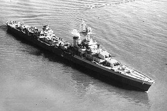 Louis-Émile Bertin - The French cruiser Émile Bertin.