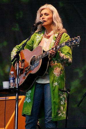 Emmylou Harris performing in San Francisco, 2005