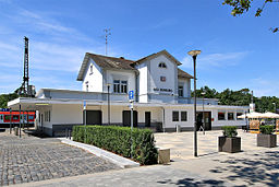 Empfangsgebäude Neu Isenburg Juli 2014