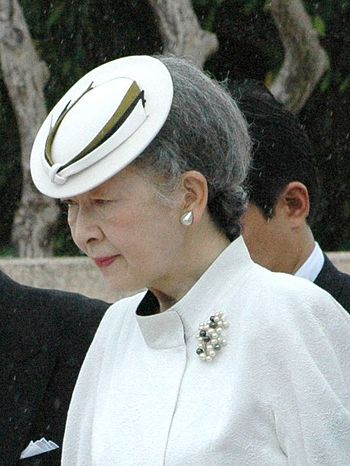 The current Empress Michiko