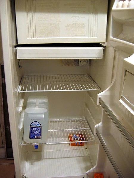 File:Empty refrigerator.jpg