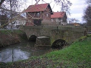 Gudensberg - Bridge over the Emsbach in Obervorschütz