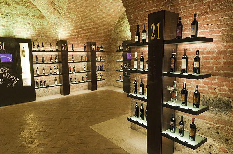 File:Ente Vini - Enoteca Italiana – Siena, Tuscany (5772007370).jpg