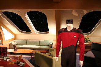USS Enterprise (NCC-1701-D) - Saucer section officer's quarters