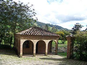 Subachoque - Park entrance in Subachoque