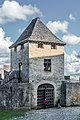 Entrance tower of the Castle of Beynac.jpg