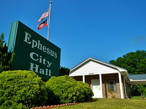 Ephesus, Georgia - Image: Ephesus, Georgia City Hall
