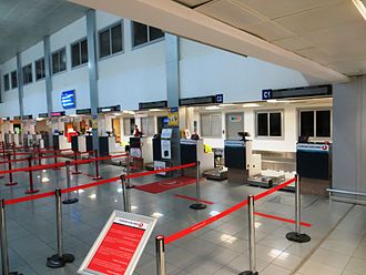 Ercan International Airport - Check-in area