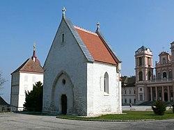 Первая немецкая поэтесса предположительно была захоронена в монастыре Гёттвайг