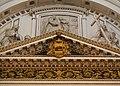 Escut de la família Borja, capella de sant Francesc de Borja de la catedral de València.JPG