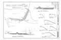 Espada Acequia, Diversion Dam, San Antonio River, Military Drive vicinity, San Antonio, Bexar County, TX HAER TEX,15-SANT.V,4B- (sheet 1 of 1).png