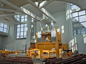 Robert Venturi - Chapel at the Episcopal Academy, Newtown Square, PA. (2010)
