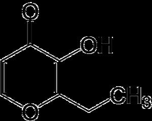 Ethyl maltol - Image: Ethyl maltol 2D by AHRLS 2012
