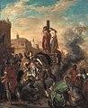 Eugène Delacroix - Clorinde befreit Olindo und Sophronia - 13165 - Bavarian State Painting Collections.jpg