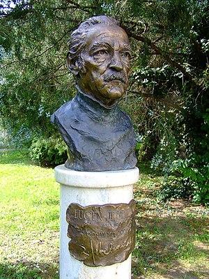Eugen Jebeleanu - Bust of Jebeleanu at the Kiskőrös Petőfi Museum in Hungary.