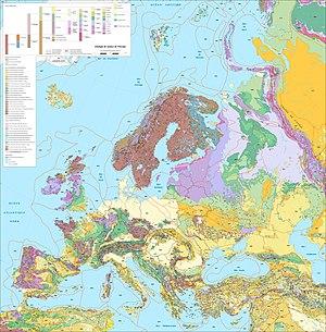 Géographie De Leurope Wikipédia