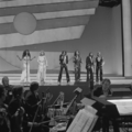Eurovision Song Contest 1976 rehearsals - Germany - Les Humphries Singers 5.png