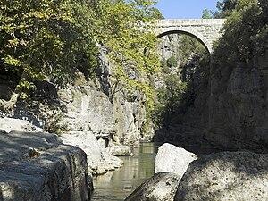 Selge, Pisidia - The Roman Eurymedon Bridge near Selge