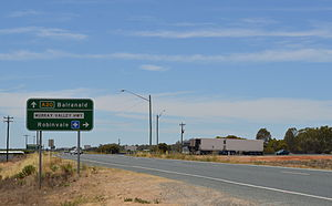Murray Valley Highway - Image: Euston Sturt Highway Murray Valley Highway Intersection 002