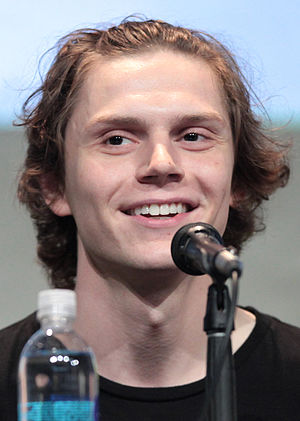 Evan Peters - Evan Peters at 2015 San Diego Comic-Con International