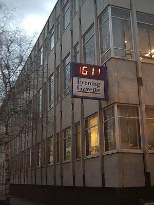 Teesside Gazette - The Gazette Building in Middlesbrough, England
