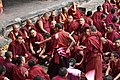 Examination of monks, Tashilhunpo Monastery, Shigatse, Tibet (4).jpg