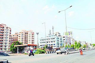 Adityapur City and Neighbourhood in Jamshedpur, Jharkhand, India