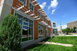 Concordia University School of Law - Image: Exterior Front Street