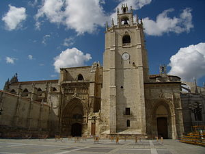 Antonio de Cabezón - The Palencia Cathedral, where Cabezón probably received his music education from one García de Baeza.