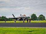 F-35 Lightning II - Leeuwarden Airport (27546590881).jpg