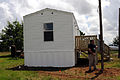 FEMA - 44262 - FEMA Housing Official at Temporary Housing Unit, Mississippi.jpg