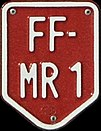 FF License Plates Red-and-White Vanity plates Fürstenfeld.jpg