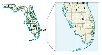 2004 United States House of Representatives elections - Florida congressional districts in the 2004 elections