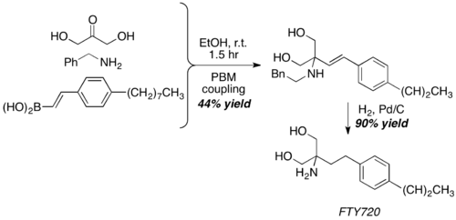 synthesis of FTY720