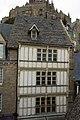 Façade de l'ancienne auberge Saint-Pierre (Le Mont-Saint-Michel, Manche, France).jpg