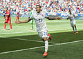 Fabian Johnson celebrates goal vs Turkey 2014 (15259946016).jpg