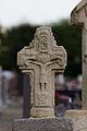 Face ouest de la croix de cimetière en chasuble (Pacé, Ille-et-Vilaine, France).jpg