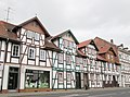 Fachwerkreihenhäuser des späten 19. Jh. an der Luisenstraße - Eschwege - panoramio.jpg