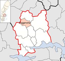 Fagersta Municipality in Västmanland County.png