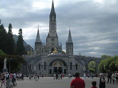 Santuario di N. S. di Lourdes (fonte: Wikimedia Commons)
