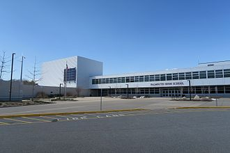 Falmouth High School (Massachusetts) - Image: Falmouth High School, Falmouth MA