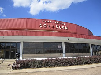 Lenny Fant - Fant-Ewing Coliseum at the University of Louisiana at Monroe