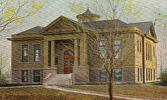 William C. Albrant - Carnegie Library, North Dakota Agricultural College, Fargo, North Dakota. 1904-05.