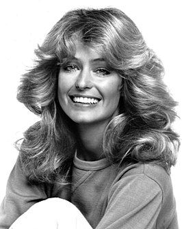 Farrah Fawcett in 1977