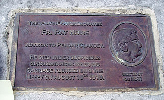 Father Pat Noise - Plaque in memory of Father Pat Noise